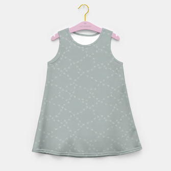 Thumbnail image of The tracks of birds adventures Girl's summer dress, Live Heroes