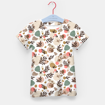 Miniature de image de Vibrant colorful fall nature Camiseta para niños, Live Heroes