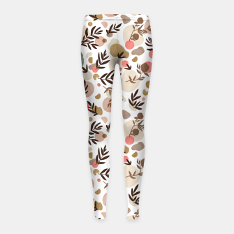 Thumbnail image of Vibrant colorful fall nature Leggings para niña, Live Heroes