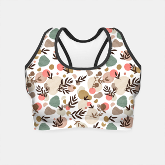 Thumbnail image of Vibrant colorful fall nature Crop Top, Live Heroes