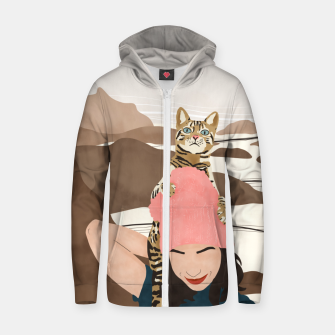 Miniatur Together for the world Sudadera con capucha y cremallera , Live Heroes