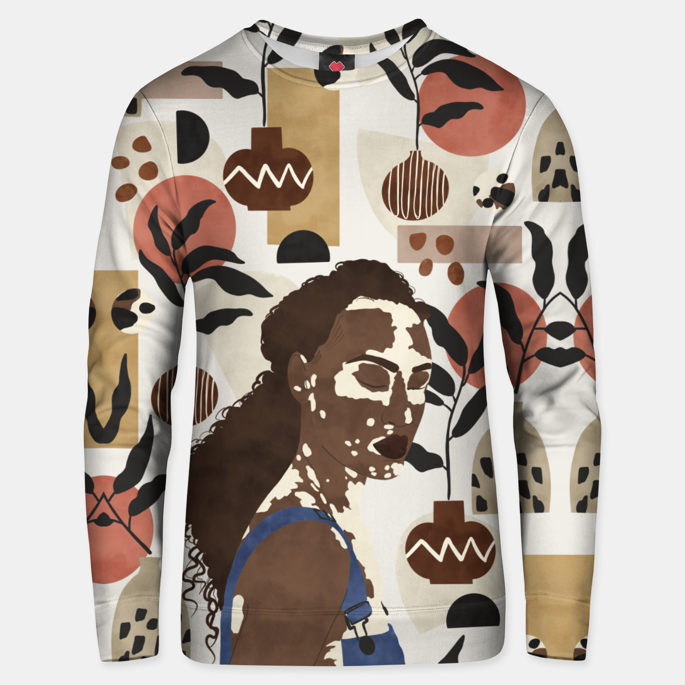 Image of African sentiment Sudadera unisex - Live Heroes