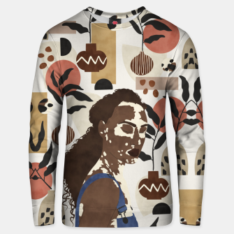 Thumbnail image of African sentiment Sudadera unisex, Live Heroes