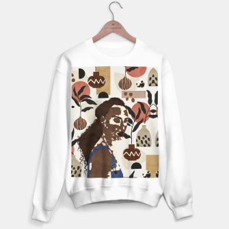 Thumbnail image of African sentiment Sudadera regular, Live Heroes