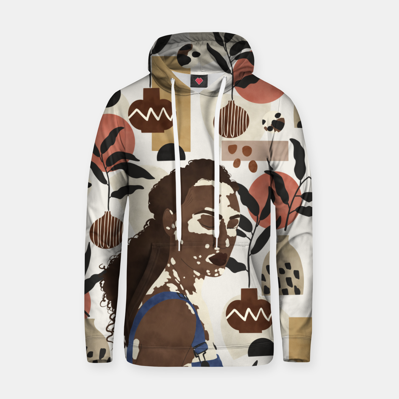 Image of African sentiment Sudadera con capucha - Live Heroes