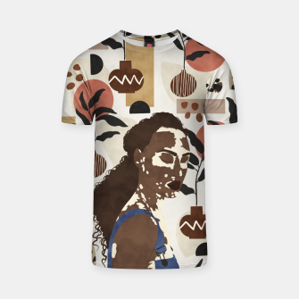 Thumbnail image of African sentiment Camiseta, Live Heroes