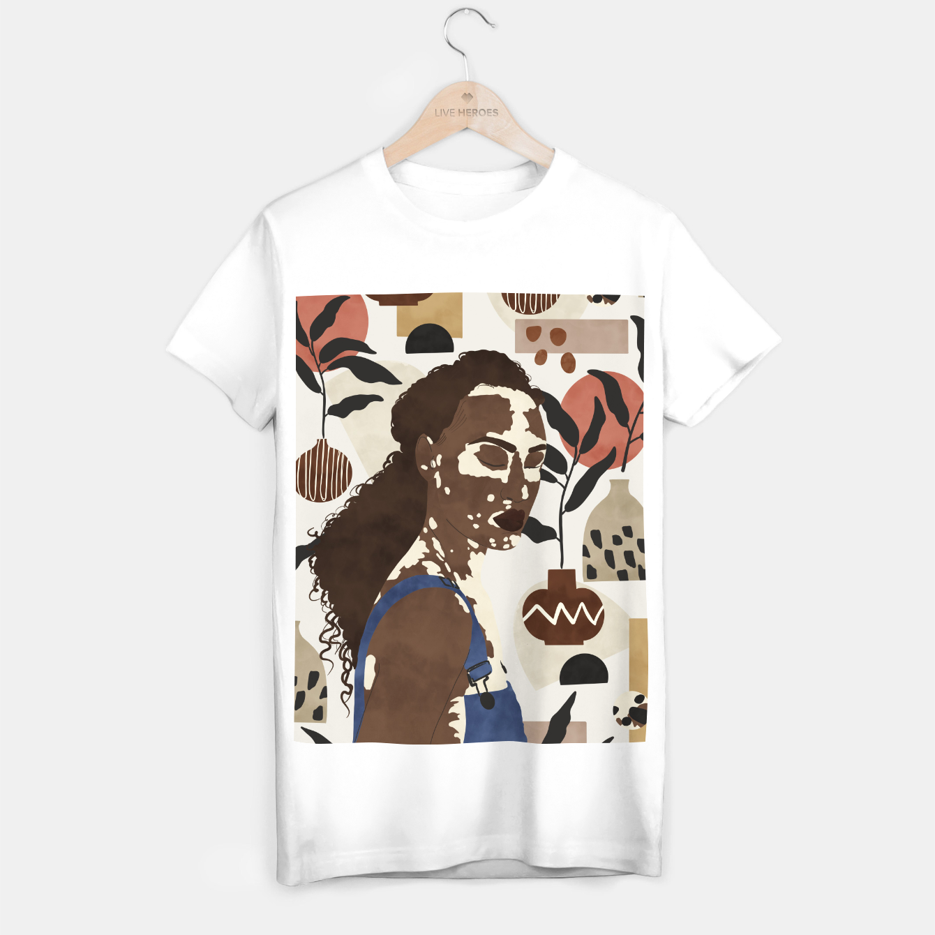 Image of African sentiment Camiseta Regular - Live Heroes