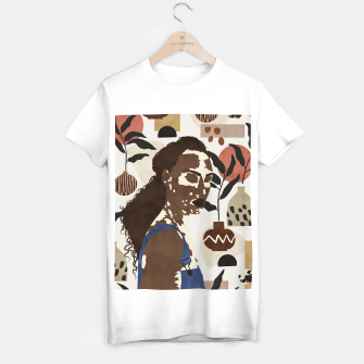 African sentiment Camiseta Regular Bild der Miniatur