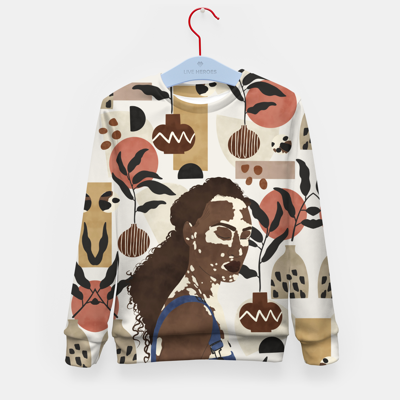 Image of African sentiment Sudadera para niños - Live Heroes