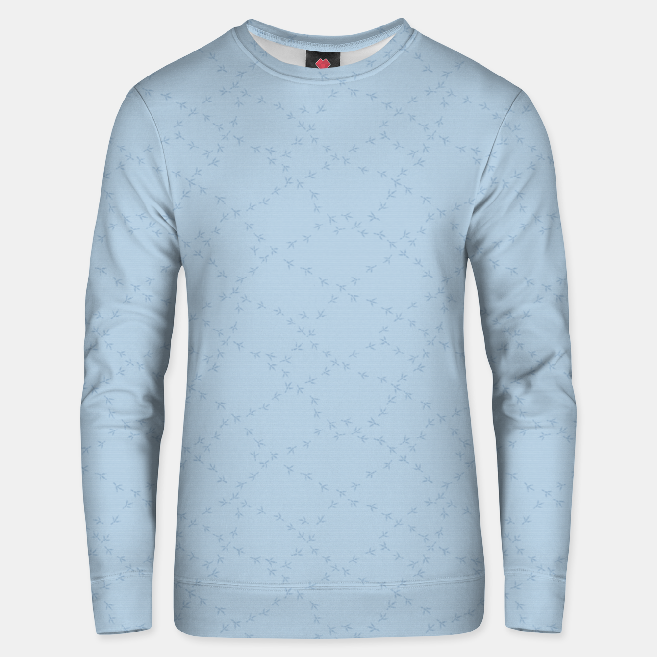 Image of The tracks of winter birds adventures  Unisex sweater - Live Heroes