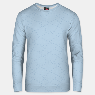 Thumbnail image of The tracks of winter birds adventures  Unisex sweater, Live Heroes