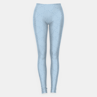 The tracks of winter birds adventures  Leggings thumbnail image