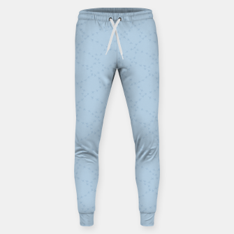 The tracks of winter birds adventures  Sweatpants thumbnail image