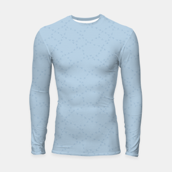 The tracks of winter birds adventures  Longsleeve rashguard  thumbnail image