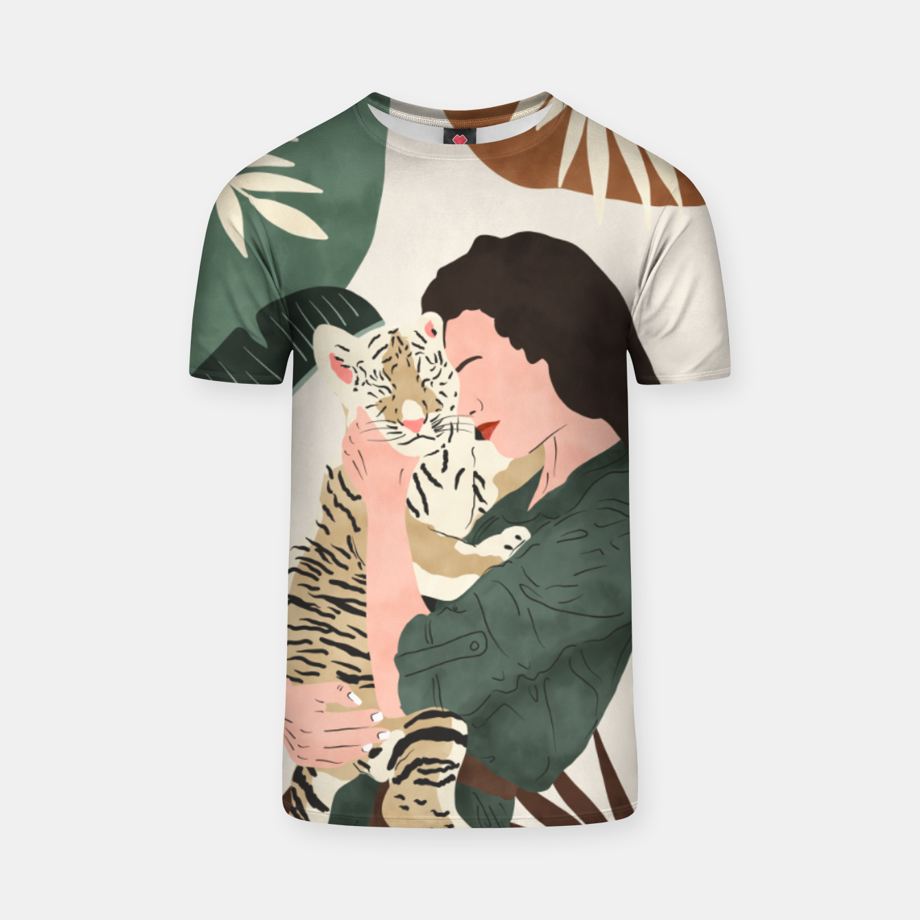 Image of Wild feeling Camiseta - Live Heroes