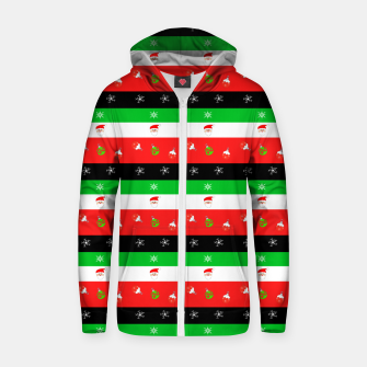 Visions Of Christmas Zip up hoodie thumbnail image