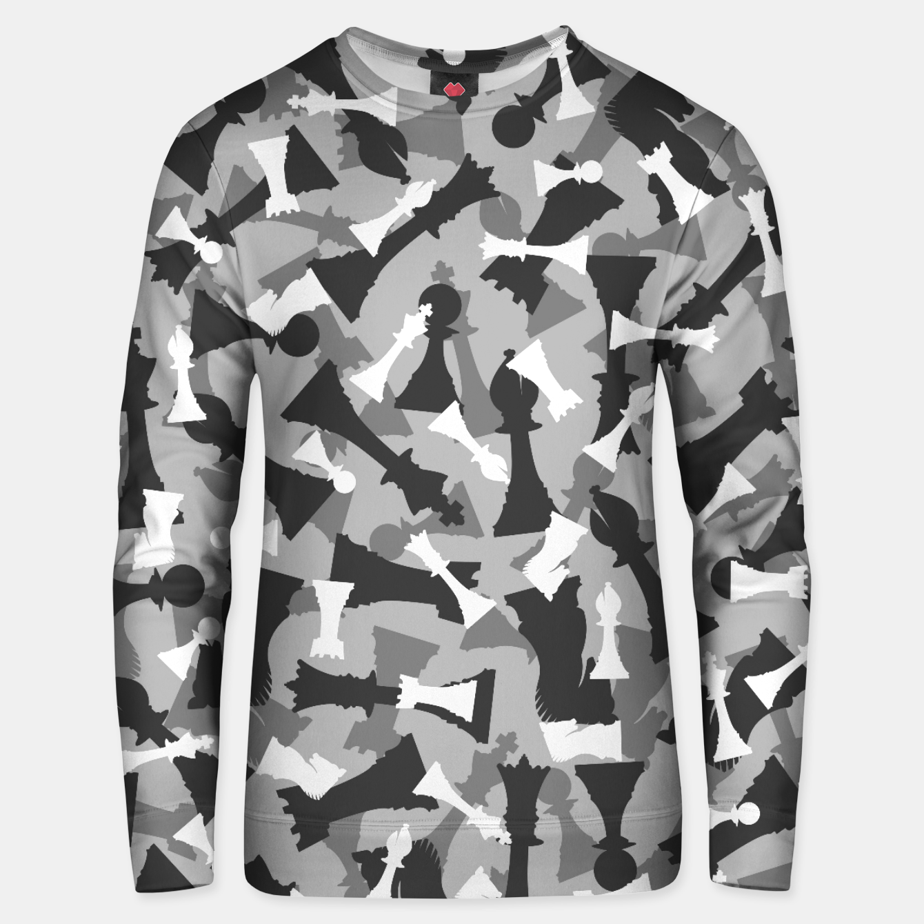 Image of Chess Camo URBAN WINTER Unisex sweater - Live Heroes