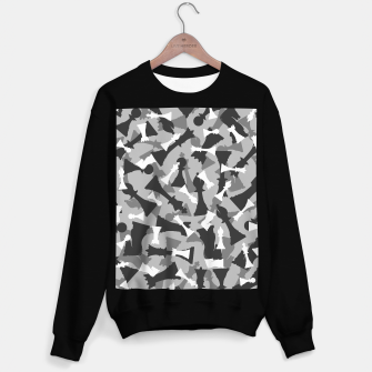 Miniatur Chess Camo URBAN WINTER Sweater regular, Live Heroes