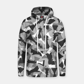 Miniatur Chess Camo URBAN WINTER Hoodie, Live Heroes