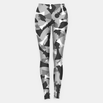 Miniatur Chess Camo URBAN WINTER Leggings, Live Heroes