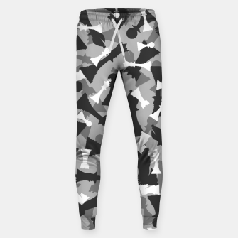 Miniatur Chess Camo URBAN WINTER Sweatpants, Live Heroes