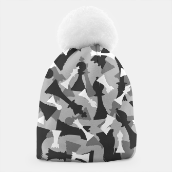 Miniatur Chess Camo URBAN WINTER Beanie, Live Heroes