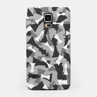 Miniatur Chess Camo URBAN WINTER Samsung Case, Live Heroes