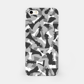 Miniatur Chess Camo URBAN WINTER iPhone Case, Live Heroes