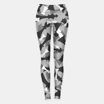 Thumbnail image of Chess Camo URBAN WINTER Leggings, Live Heroes
