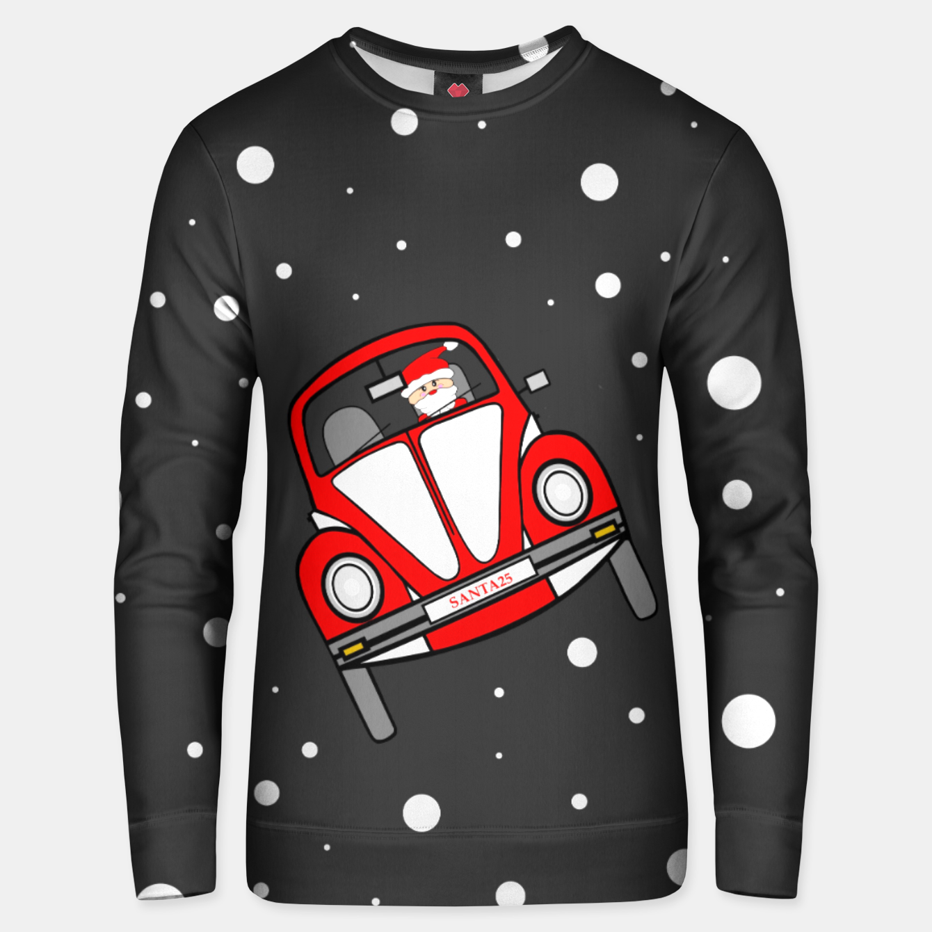 Image of Santas Sleigh Is In The Shop Unisex sweater - Live Heroes