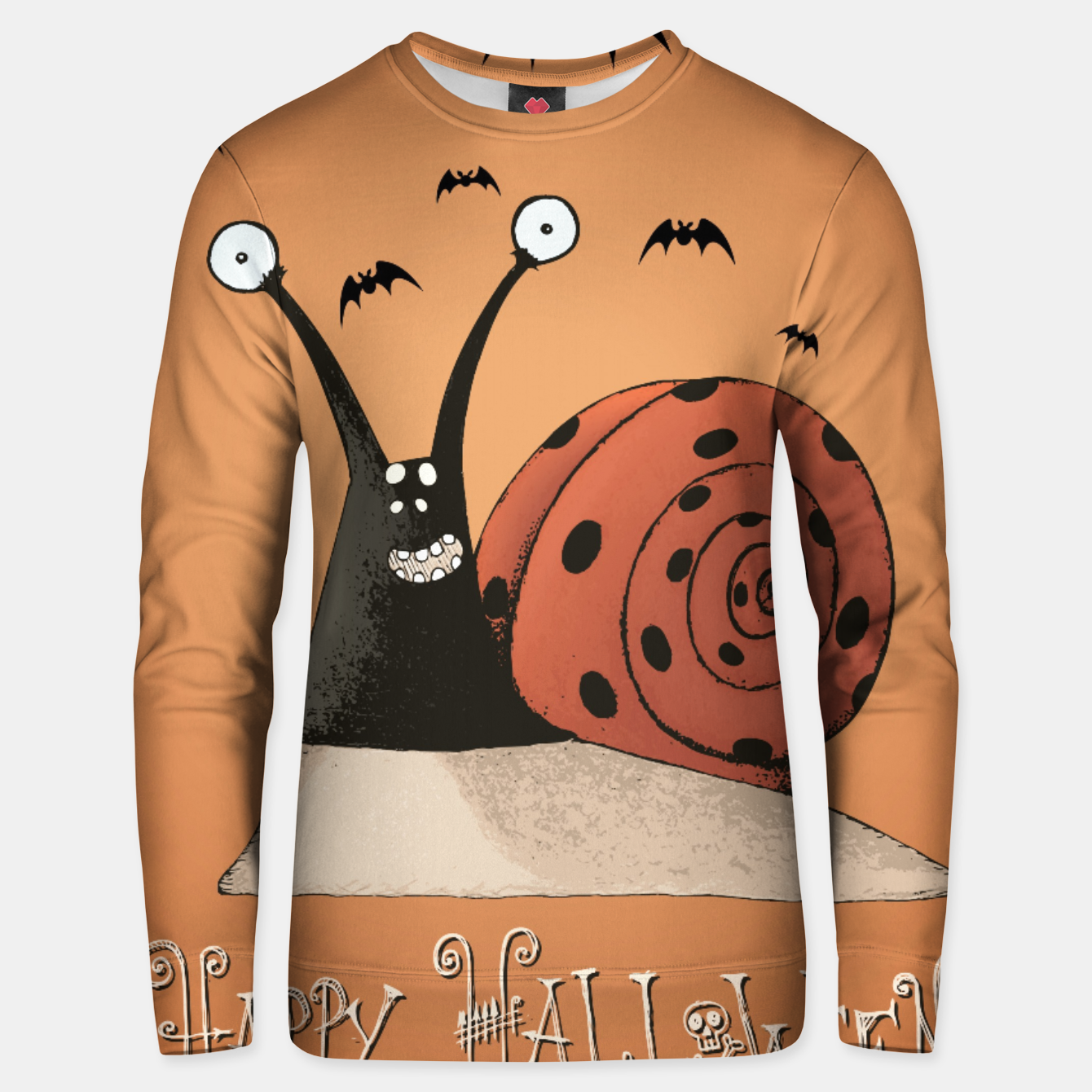 Image of LADYBIRD SNAIL Unisex sweater - Live Heroes