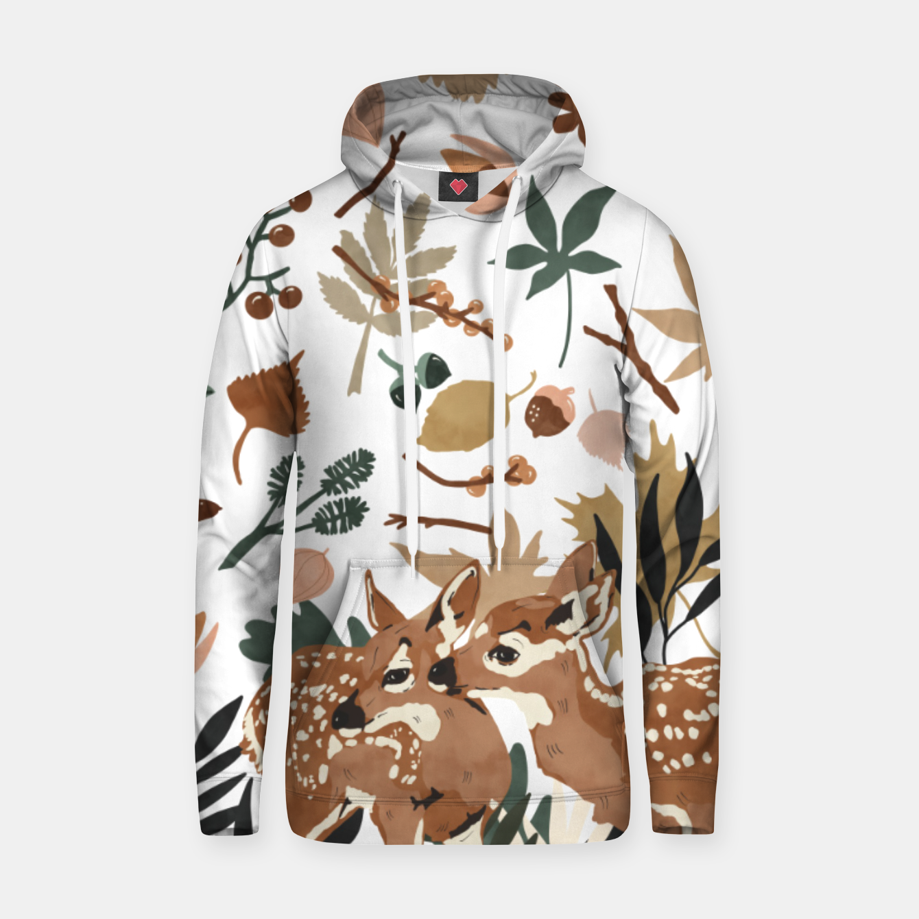 Image of Deer cubs nature Sudadera con capucha - Live Heroes
