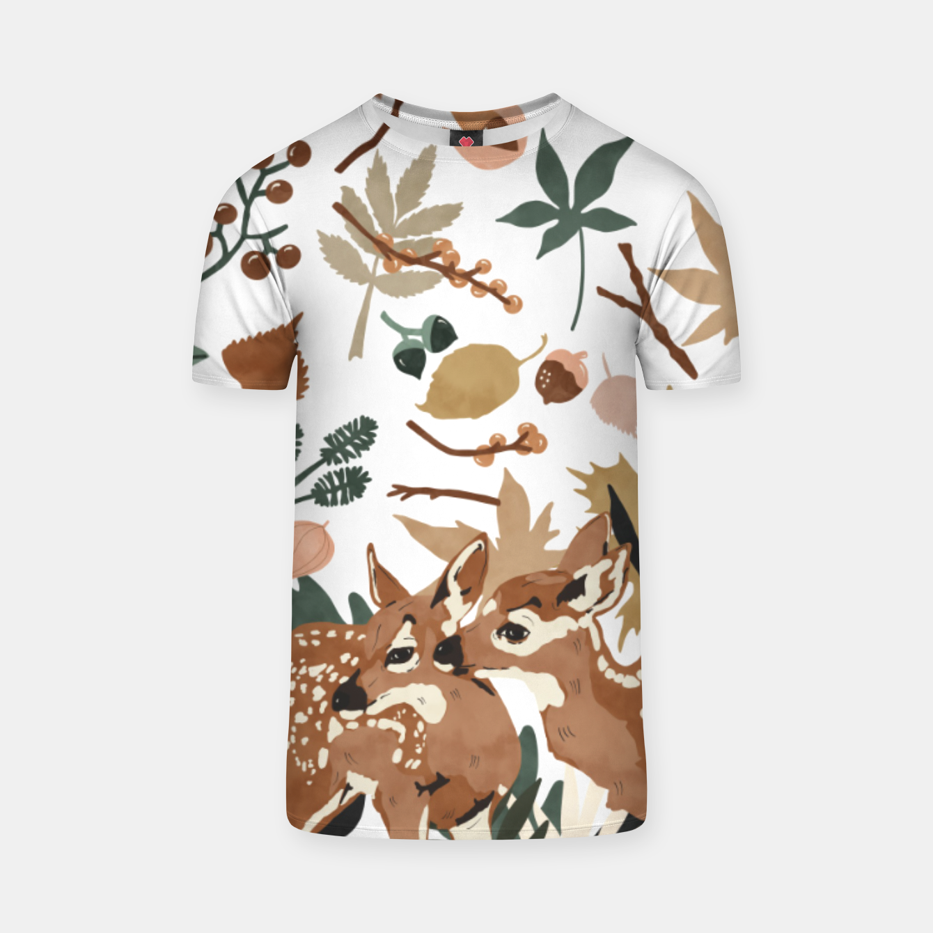 Image of Deer cubs nature Camiseta - Live Heroes