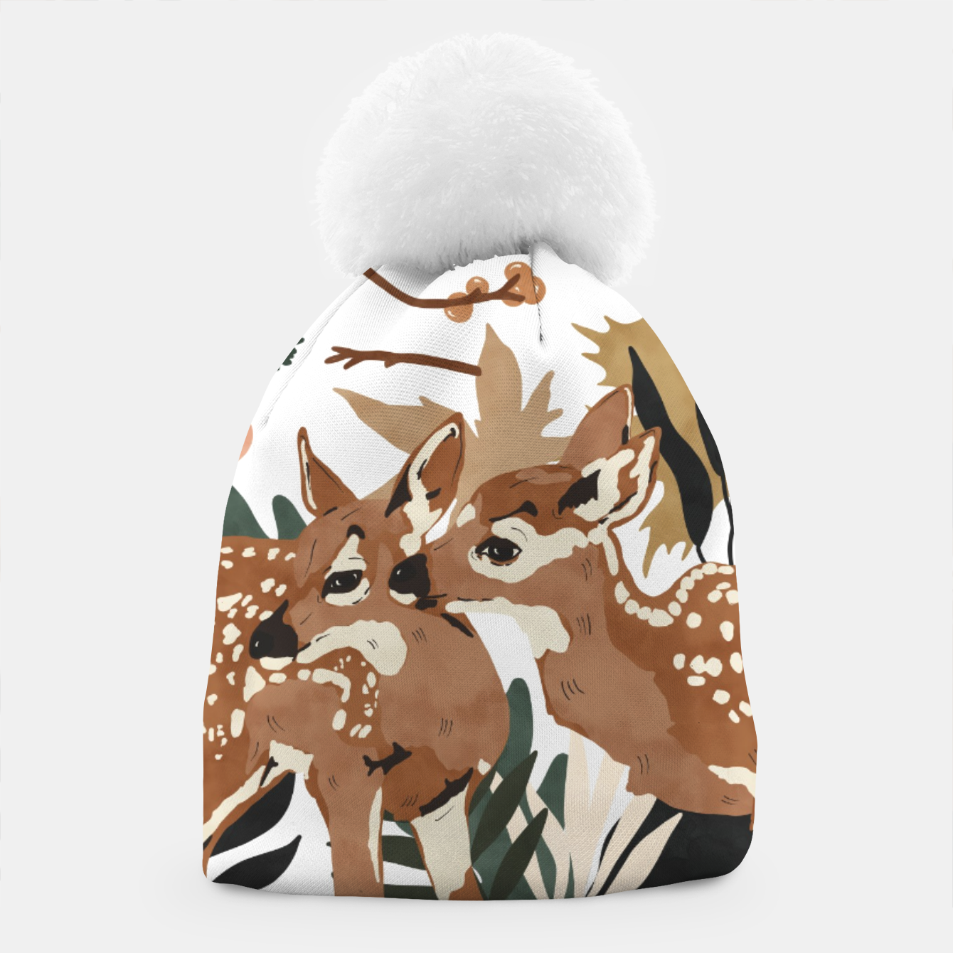 Image of Deer cubs nature Gorro - Live Heroes