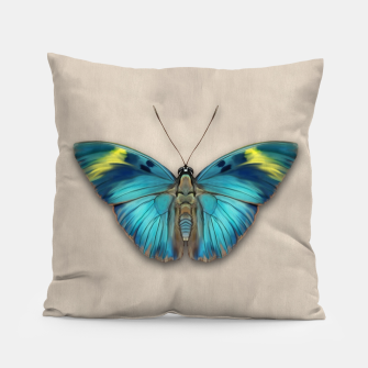 Thumbnail image of The Widespread Forester Butterfly Pillow, Live Heroes