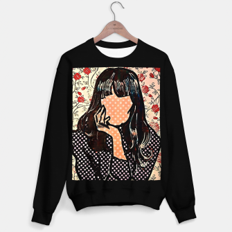 Paola dots celebrity portrait by Yulia A Korneva Sweater regular thumbnail image