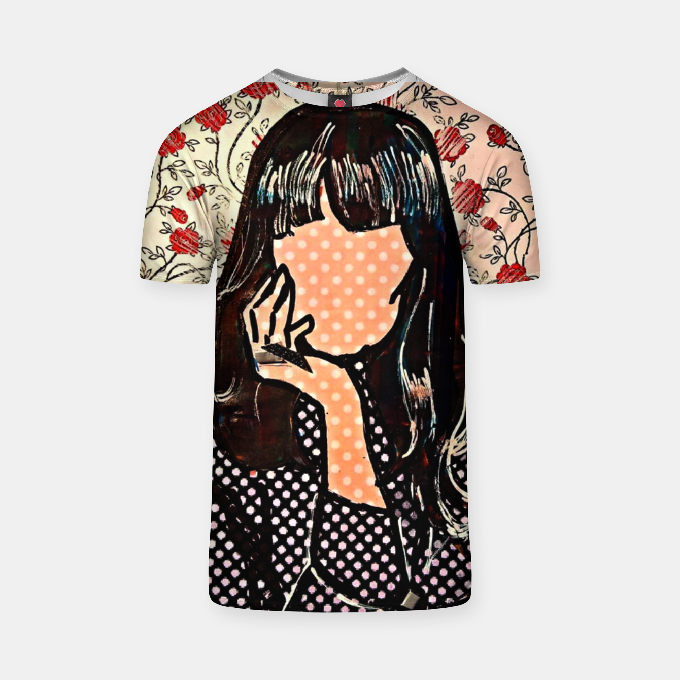 Image of Paola dots celebrity portrait by Yulia A Korneva T-shirt - Live Heroes