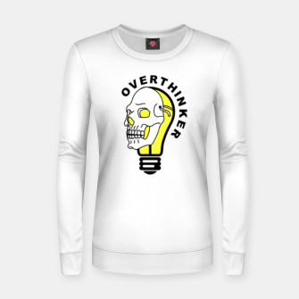 Thumbnail image of OVERTHINKER Women sweater, Live Heroes