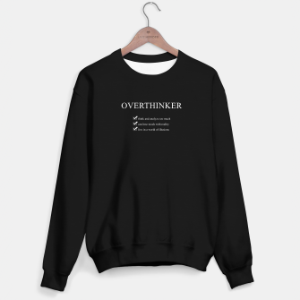 Thumbnail image of Overthinker Definition Sweater regular, Live Heroes
