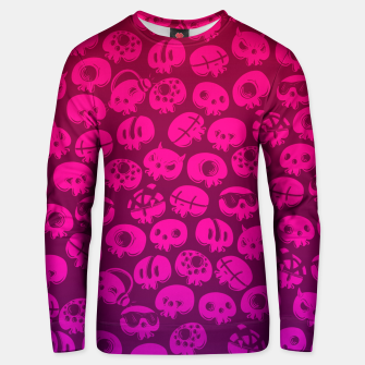 Thumbnail image of Just skulls Unisex sweater, Live Heroes