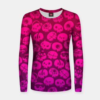 Miniatur Just skulls Women sweater, Live Heroes