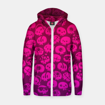 Miniatur Just skulls Zip up hoodie, Live Heroes