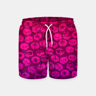 Miniatur Just skulls Swim Shorts, Live Heroes