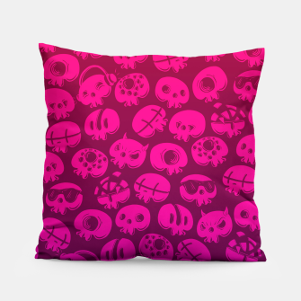Miniatur Just skulls Pillow, Live Heroes