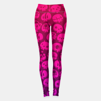 Miniatur Just skulls Leggings, Live Heroes