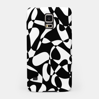 Thumbnail image of Abstract pattern - black and white. Samsung Case, Live Heroes