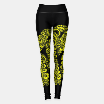 Miniatur Green Tentacles Leggings, Live Heroes