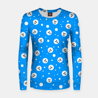 Thumbnail image of Skull Snow Women sweater, Live Heroes