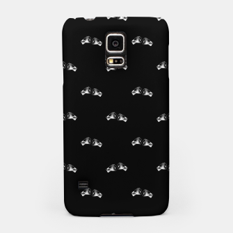 Thumbnail image of Black and White Boxing Motif Pattern Samsung Case, Live Heroes