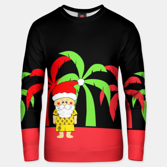 Miniatur Tropical Christmas Unisex sweater, Live Heroes